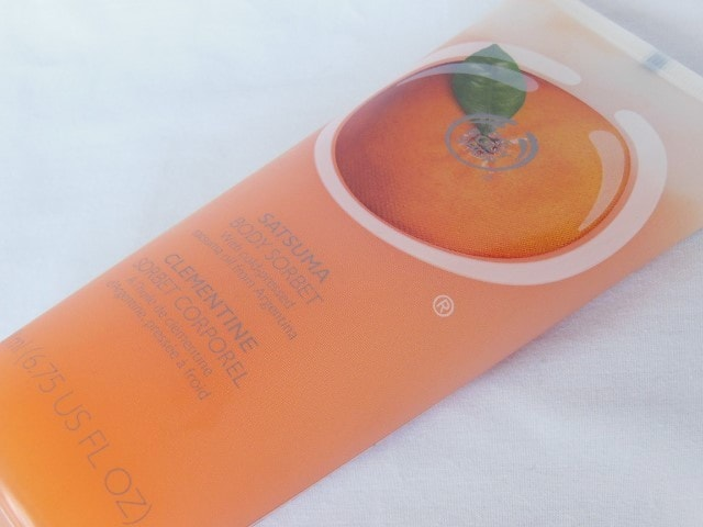 The Body Shop  Body Sorbet in Sastuma