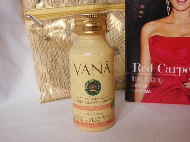 Vana Vidhi Luxury Summer Shimmer Sunscreen Review