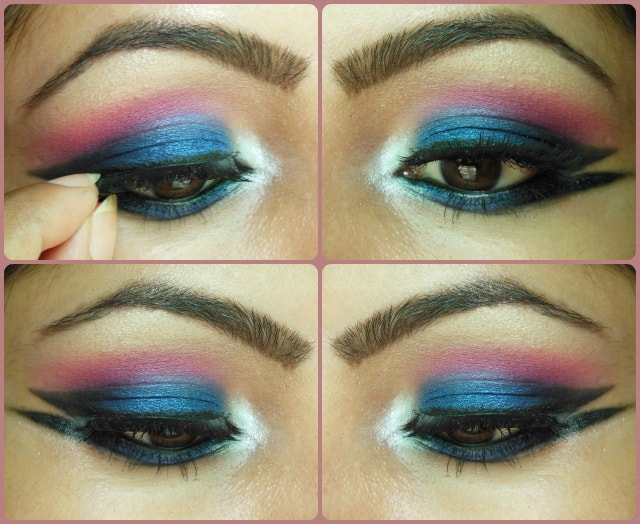 Blue Marina Eye Makeup Tutorial Look