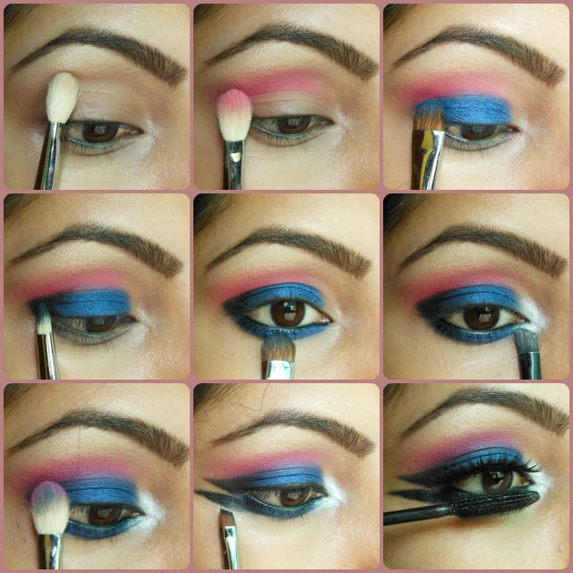 Blue Marina Eye Makeup Tutorial