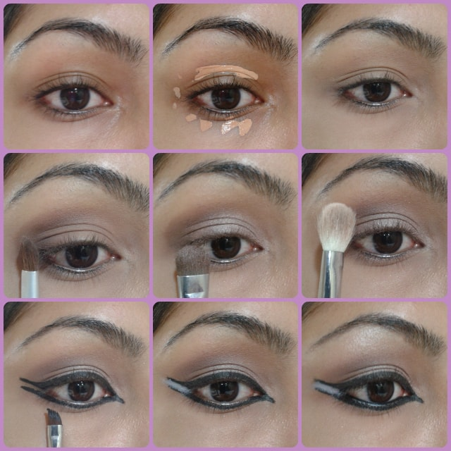 Dual Winged Eye Liner Makeup Tutorial