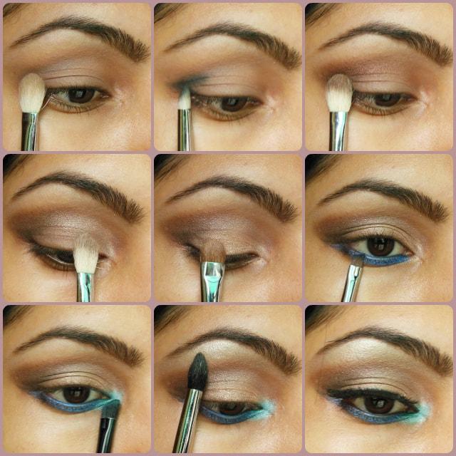 Eye Makeup Tutorial - Pop Of Blue Eyes