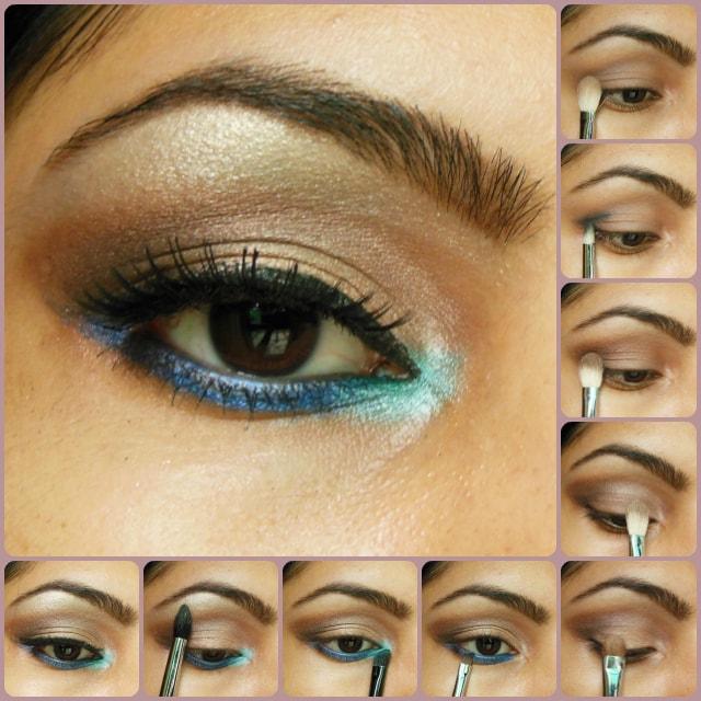 Eye Makeup Tutorial - Pop Of Blue