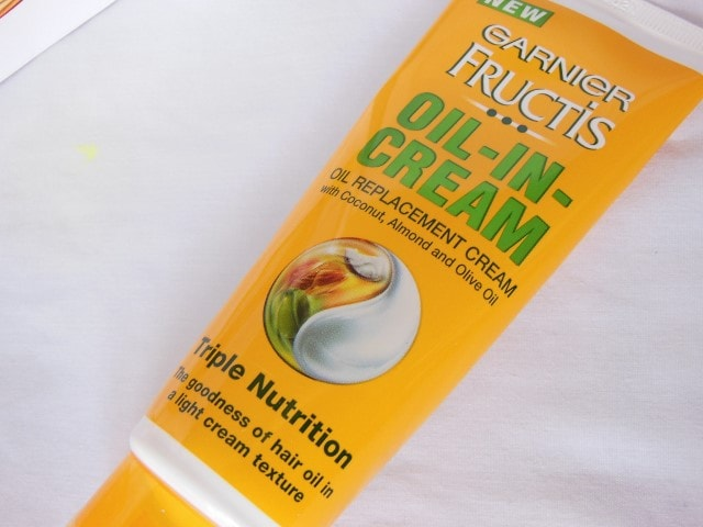 Garnier Fructis Oil In Cream Oil Replacement Cream