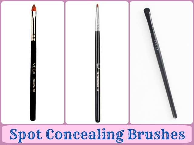 Makeup Brushes Guide - Spot concealer brushes
