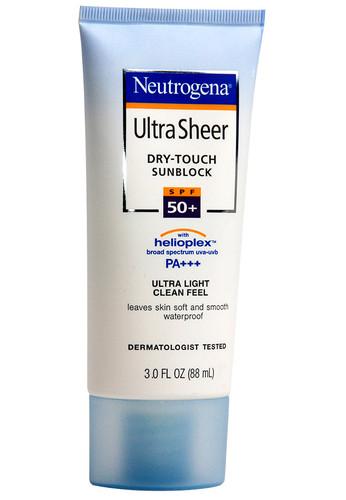 Neutrogena Ultra Sheer Dry Touch Sunblock SPF 50