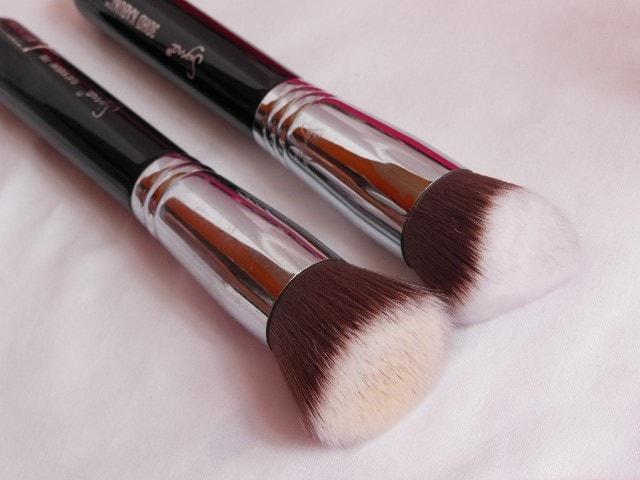 SIGMA 3DHD Kabuki Brush and SIGMA F80 Kabuki Brush