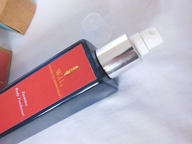 Wikka Jasmine Body Freshener Packaging