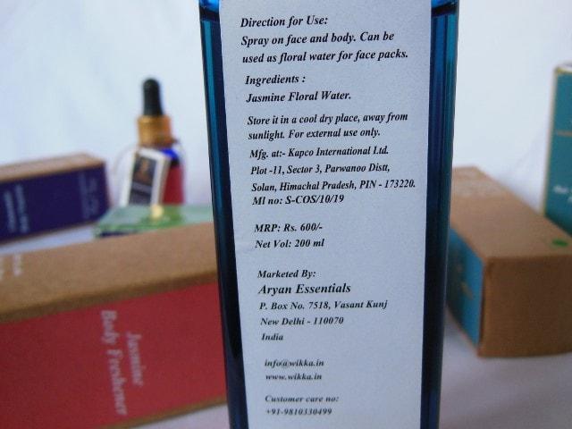 Wikka Jasmine Body Freshener Price