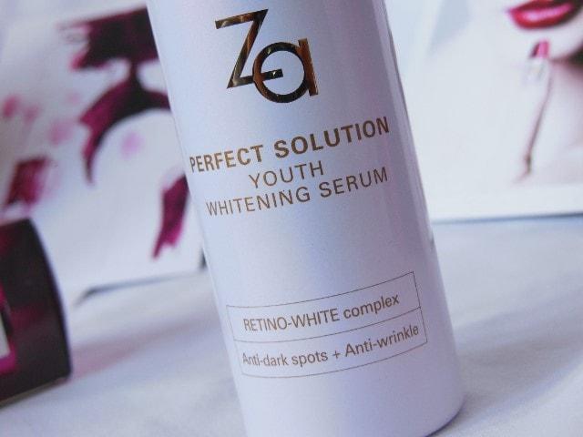 Za Youth Whitening Serum with Retino White Complex