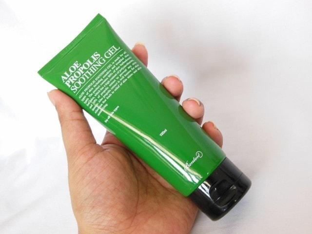 Benton Aloe Propolis Soothing Gel Packaging