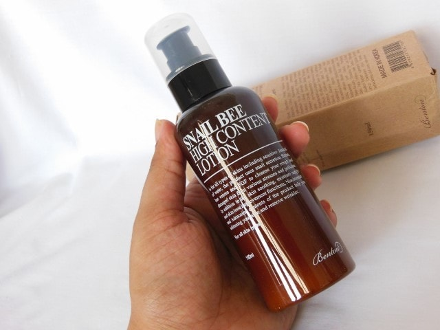 Benton Snail Bee High Content Lotion Review