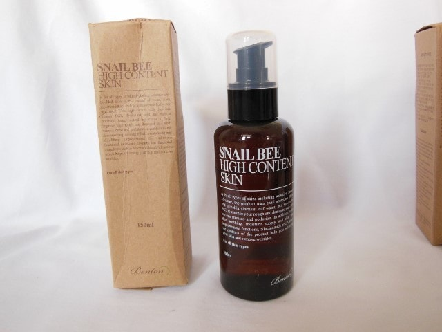 Benton Snail Bee High Content Skin Review