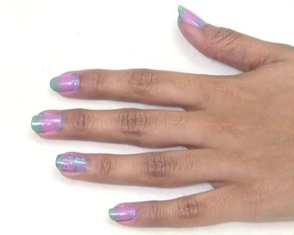 DIY Ombre Nail Art