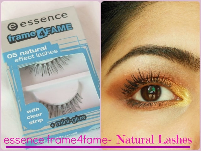 Essence Frame4Fame Lashes - Natural Effect Look