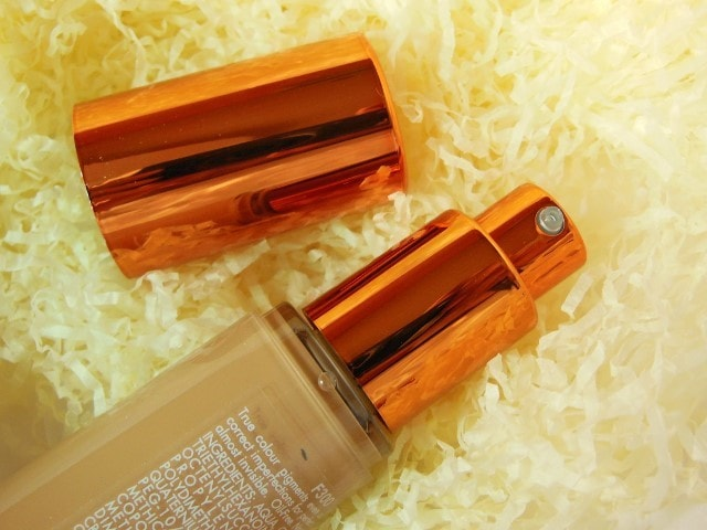 Ex1 Cosmetics Invisiwear Liquid Foundation Packaging