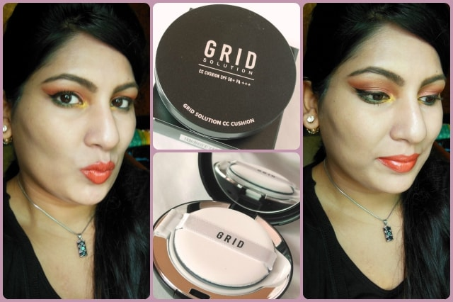 Grid Solution CC Cushion SPF50+ Look