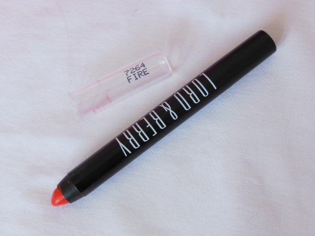 Lord & Berry 20100 Crayon Lipstick Fire Packaging