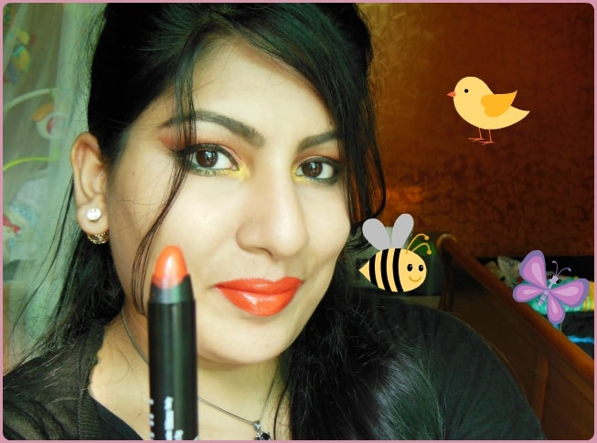 Lord & Berry Crayon Lipstick Fire Look
