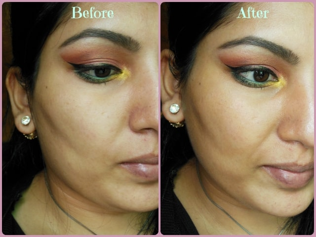 Makeup Revolution London Focus & Fix Liquid Concealer Before and After