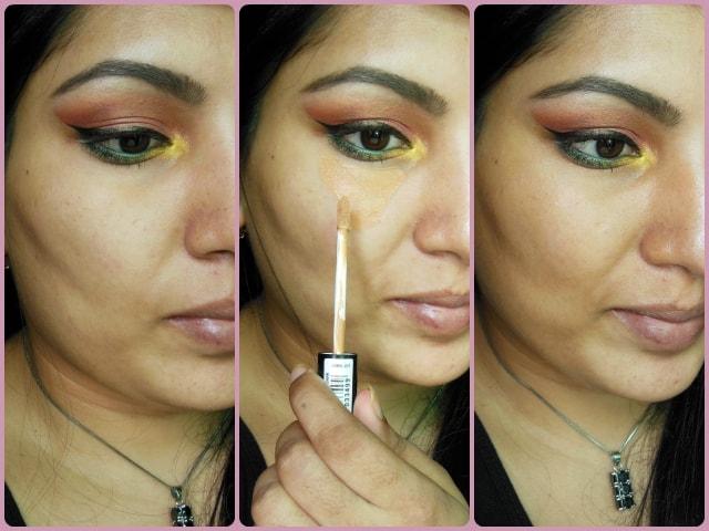 Makeup Revolution London Focus & Fix Liquid Concealer EOTD