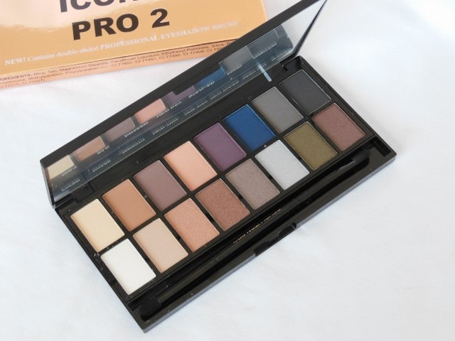 Makeup Revolution London Iconic Pro 2 EyeShadow Palette Review