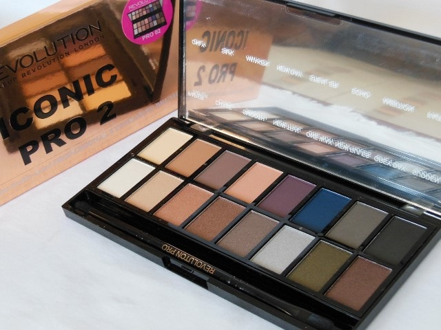 Makeup Revolution London Iconic Pro 2 Palette Packaging