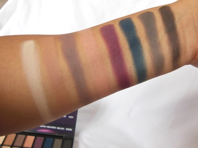 Makeup Revolution London Iconic Pro 2 Palette Row 1 Swatch