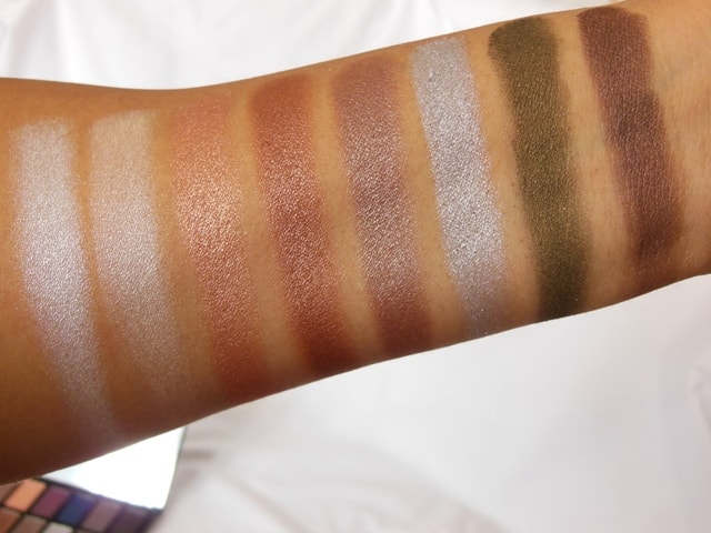 Makeup Revolution London Iconic Pro 2 Palette Row 2 Swatch2