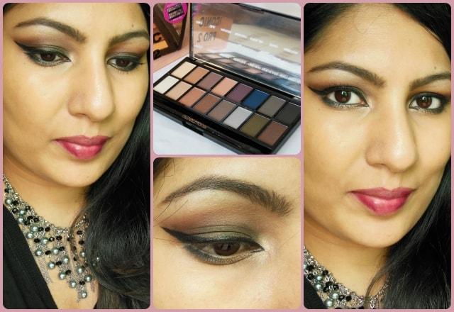 Makeup Revolution London Iconic Pro2 Palette Look