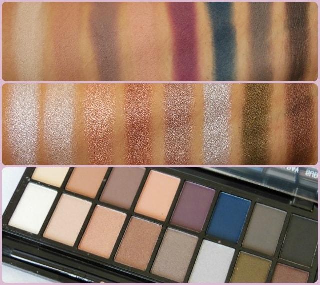Makeup Revolution London Iconic Pro2 Palette Swatch