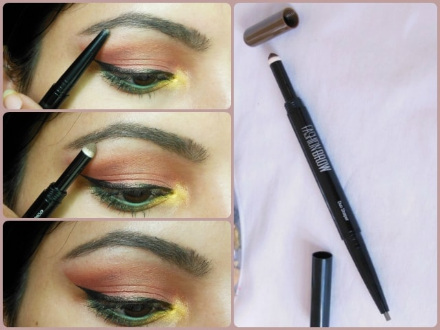 Maybelline Fashion brow Duo Shaper Brown EOTD
