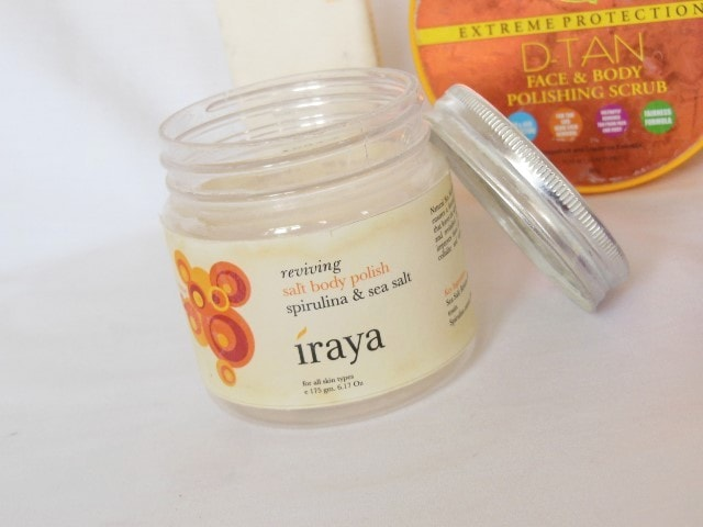 Products Finished September 2015 -Iraya Reviving Salt Body Polish