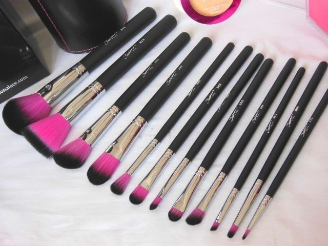 Sedona Lace 12 Piece Synthetic Professional brush Set with Cup Holder