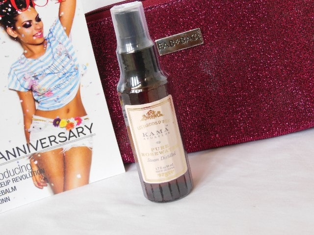 September Fab Bag 2015 - Forest Essentials Pure Rose Water