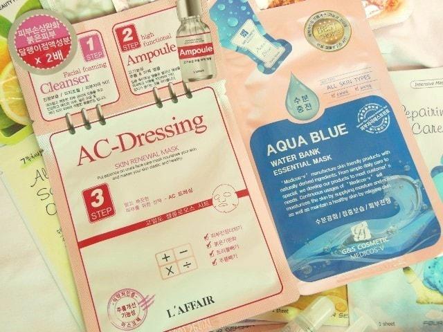 Skin18.com AC Dressing face Mask Sheets