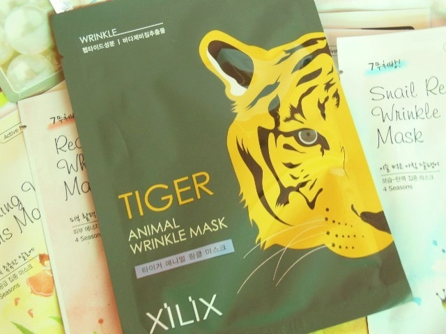 Skin18.com Tiger Animal Wrinkle Mask Sheet