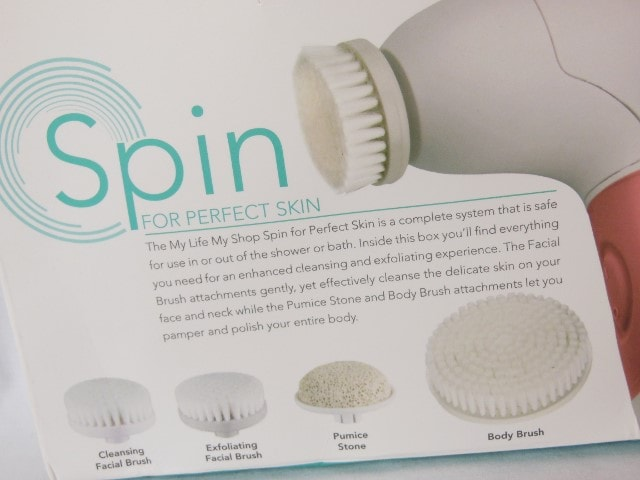 Spin For Perfect Skin Beauty Brushes details