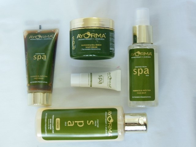 Ayorma Spa fairness and anti-tan Skin Care Regime