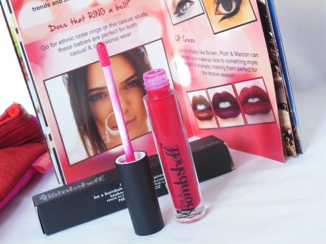 Be A Bombshell Poker Face Lip gloss Review