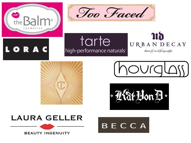 High End Makeup Brands of US