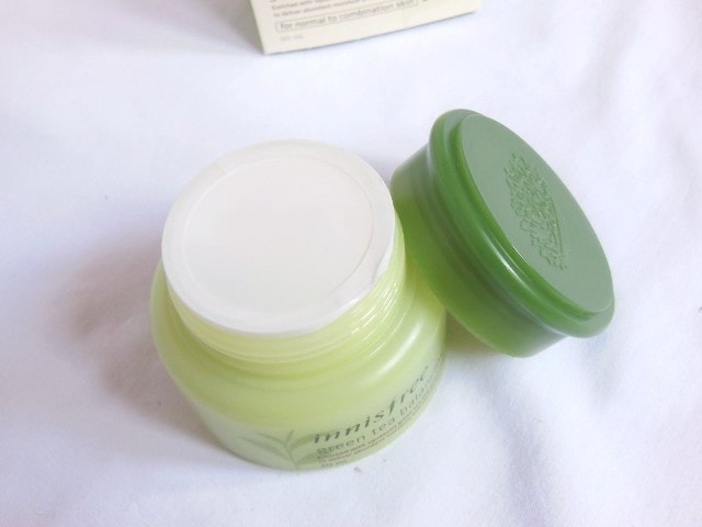Innisfree Green Tea Balancing Cream Seal