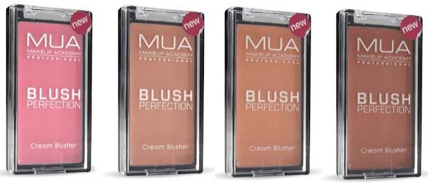 MUA Pro Blush Perfection Cream Blusher