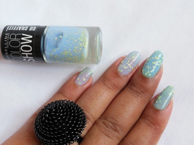 Maybelline Blueberry Bombshell Nail Polish Nails