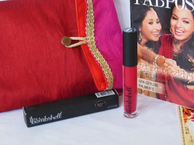 October Fab Bag 2015 - Be a BombShell Lip Gloss
