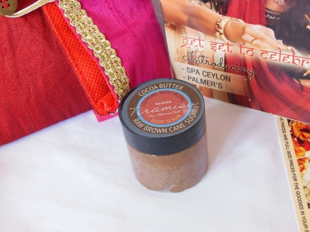 October Fab Bag 2015 - Nyassa Tiramisu Body Scrub