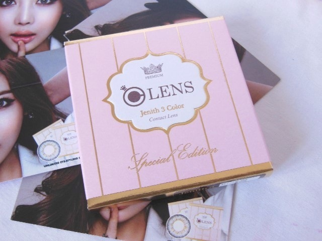 Olens Jenith 3 Color Contact Lens Special Edition
