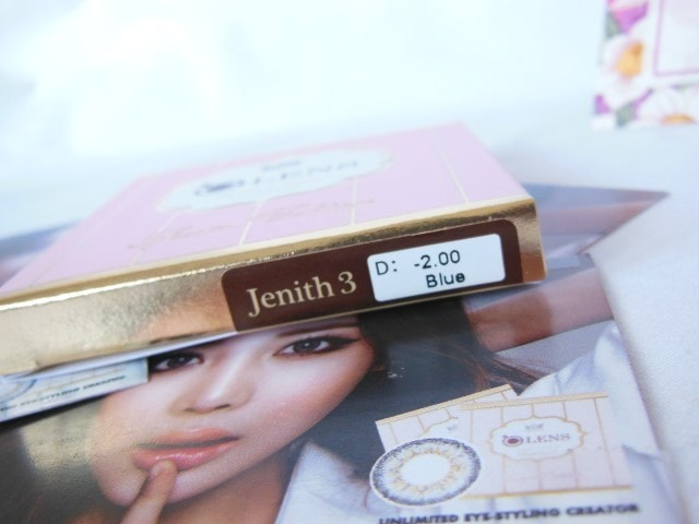 Olens Jenith 3 Contact Lenses Blue