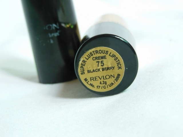 Revlon Superlustrous Black Berry 75 Lipstick
