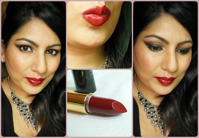 Revlon Superlustrous Blackberry Lipstick FOTD